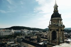 View from the St. Stephen's Basilica